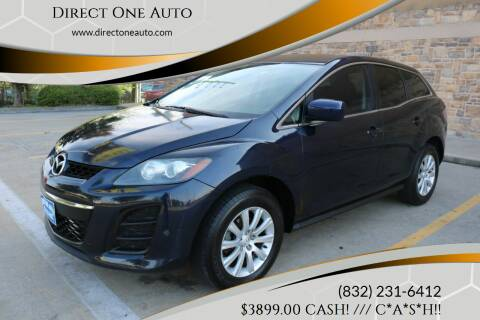 2010 Mazda CX-7 for sale at Direct One Auto in Houston TX