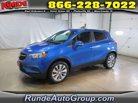 2018 Buick Encore for sale at Runde Chevrolet in East Dubuque IL