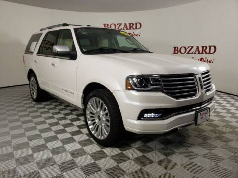 2016 Lincoln Navigator for sale at BOZARD FORD in Saint Augustine FL