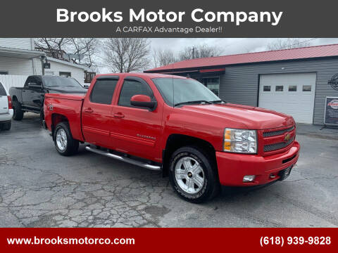 2011 Chevrolet Silverado 1500 for sale at Brooks Motor Company in Columbia IL