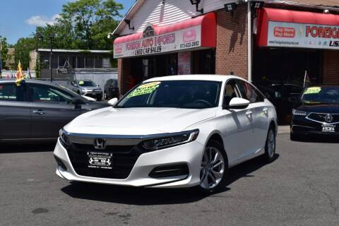 2019 Honda Accord for sale at Foreign Auto Imports in Irvington NJ