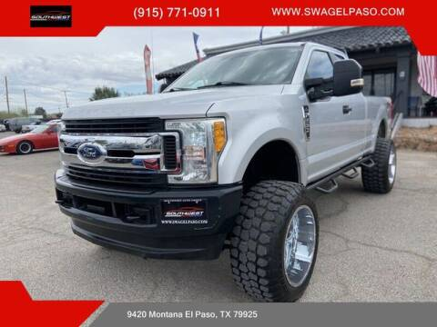 2017 Ford F-250 Super Duty for sale at SOUTHWEST AUTO GROUP-EL PASO in El Paso TX