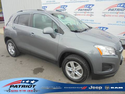 2015 Chevrolet Trax for sale at PATRIOT CHRYSLER DODGE JEEP RAM in Oakland MD