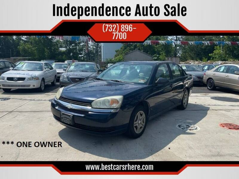 2004 Chevrolet Malibu for sale at Independence Auto Sale in Bordentown NJ