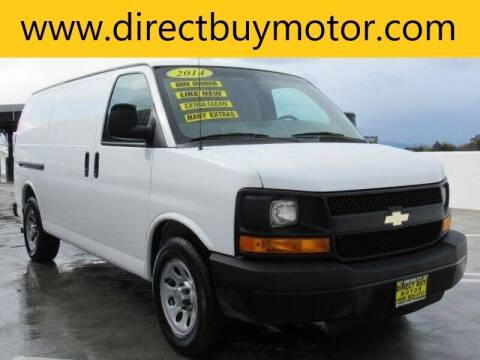 2014 Chevrolet Express Cargo for sale at Direct Buy Motor in San Jose CA