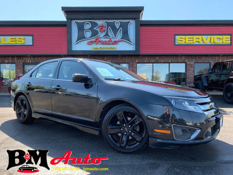 2011 Ford Fusion for sale at B & M Auto Sales Inc. in Oak Forest IL