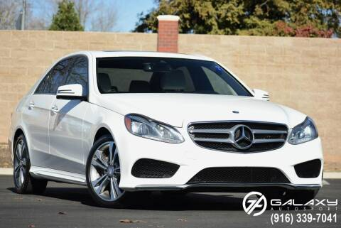 2015 Mercedes-Benz E-Class for sale at Galaxy Autosport in Sacramento CA