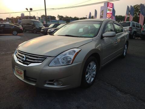 2010 Nissan Altima for sale at P J McCafferty Inc in Langhorne PA