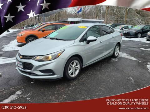 2017 Chevrolet Cruze for sale at Valpo Motors Inc. in Valparaiso IN