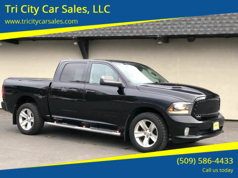 2013 RAM Ram Pickup 1500 for sale at Tri City Car Sales, LLC in Kennewick WA