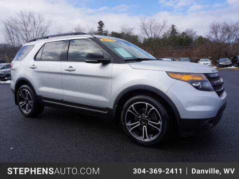 2015 Ford Explorer for sale at Stephens Auto Center of Beckley in Beckley WV