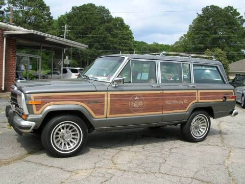 1990 Jeep Grand Wagoneer for sale at South Atlanta Motorsports in Mcdonough GA