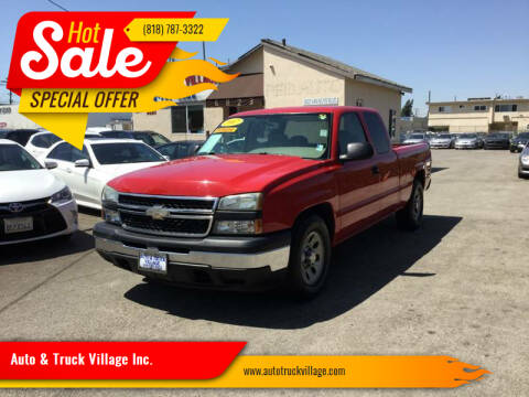 2007 Chevrolet Silverado 1500 Classic for sale at Auto & Truck Village Inc. in Van Nuys CA