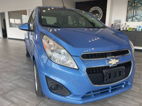 2013 Chevrolet Spark for sale at Evolution Autos in Whiteland IN