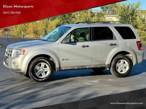 2009 Ford Escape Hybrid for sale at Klean Motorsports in Skokie IL