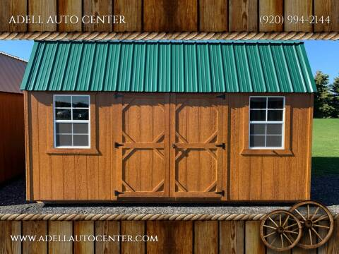 2020 DOUBLE H BUILDINGS 12X16 LOFTED GARDEN SHED for sale at ADELL AUTO CENTER in Waldo WI