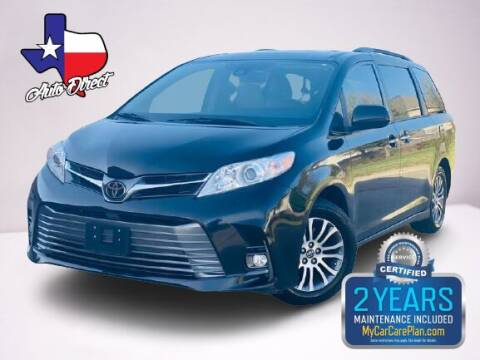 2018 Toyota Sienna for sale at AUTO DIRECT in Houston TX