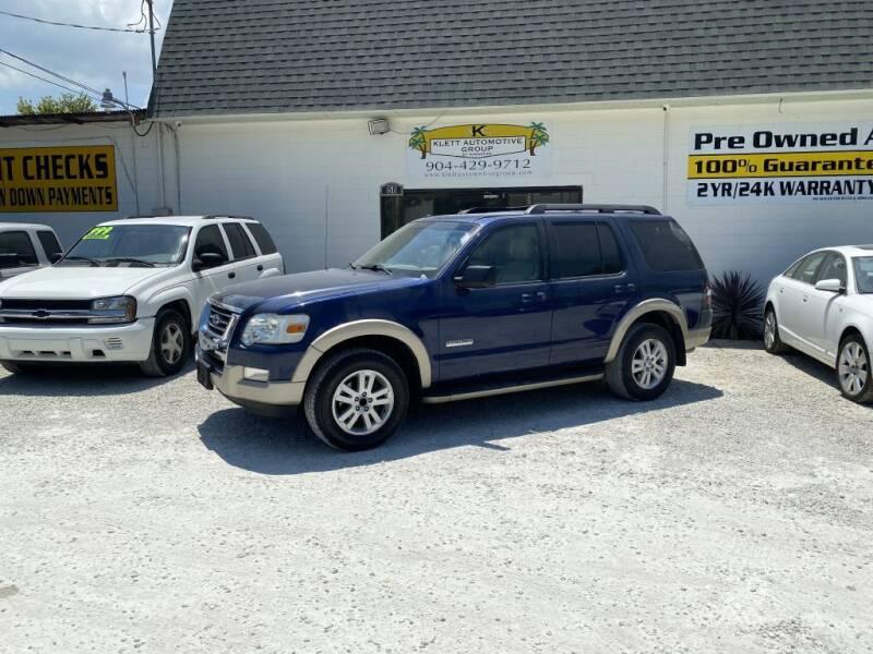 2008 Ford Explorer for sale at Klett Automotive Group in Saint Augustine FL