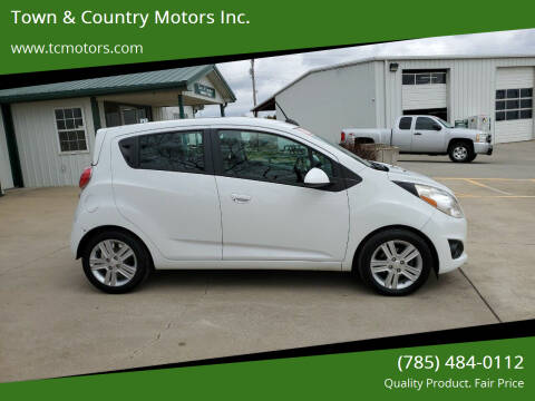 2015 Chevrolet Spark for sale at Town & Country Motors Inc. in Meriden KS