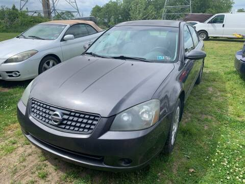 2005 Nissan Altima for sale at Trocci's Auto Sales in West Pittsburg PA