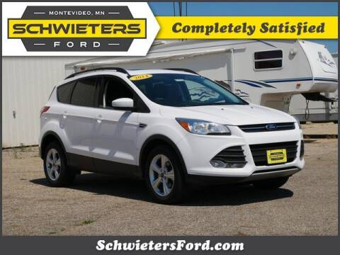 2014 Ford Escape for sale at Schwieters Ford of Montevideo in Montevideo MN