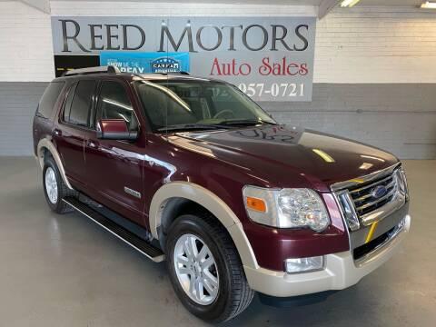 2007 Ford Explorer for sale at REED MOTORS LLC in Phoenix AZ
