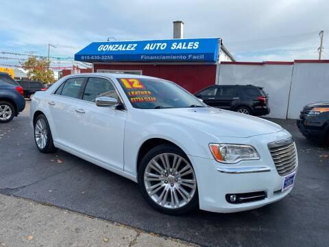 2012 Chrysler 300 for sale at Gonzalez Auto Sales in Joliet IL