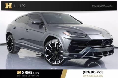 2020 Lamborghini Urus for sale at HGREG LUX EXCLUSIVE MOTORCARS in Pompano Beach FL