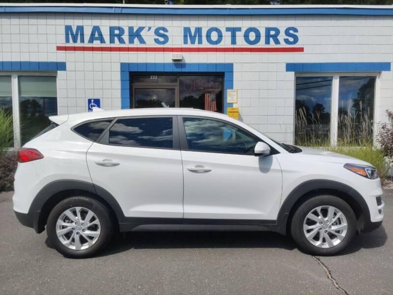 2020 Hyundai Tucson for sale at Mark's Motors in Northampton MA