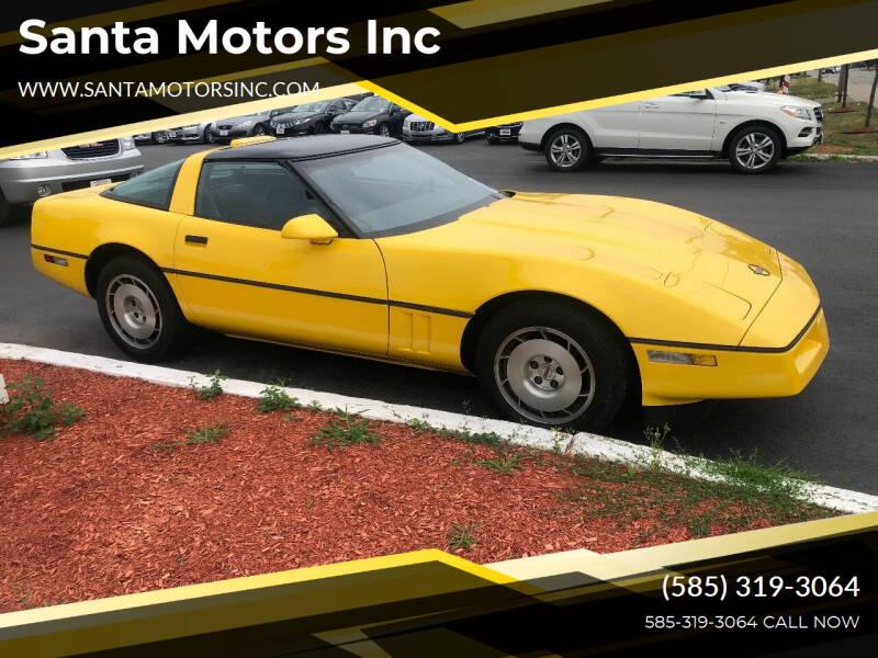 1986 Chevrolet Corvette for sale at Santa Motors Inc in Rochester NY