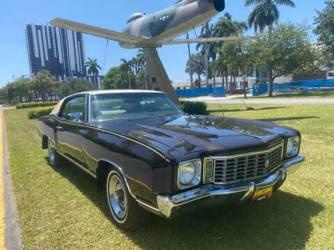1972 Chevrolet Monte Carlo for sale at BIG BOY DIESELS in Fort Lauderdale FL