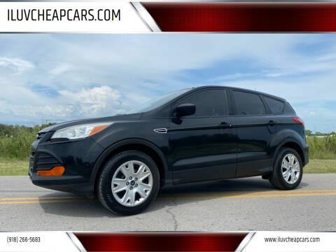 2013 Ford Escape for sale at ILUVCHEAPCARS.COM in Tulsa OK