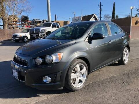 2014 Chevrolet Sonic for sale at C J Auto Sales in Riverbank CA