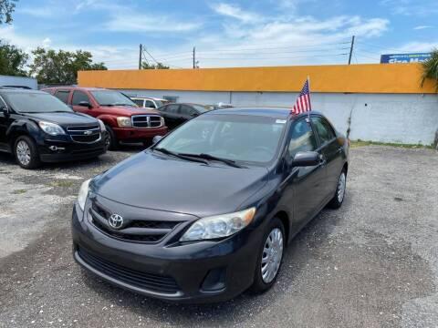 2012 Toyota Corolla for sale at CENTRAL FLORIDA AUTO MART LLC in Orlando FL