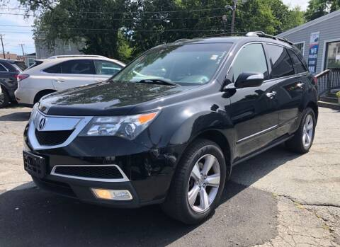 2013 Acura MDX for sale at Top Line Import in Haverhill MA
