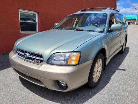 2003 Subaru Outback for sale at J & T Auto Sales in Warwick RI