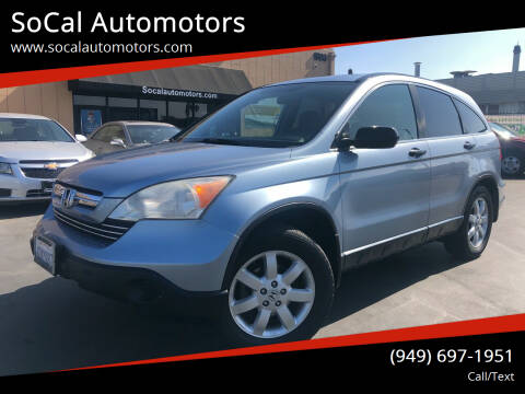 2008 Honda CR-V for sale at SoCal Automotors in Costa Mesa CA