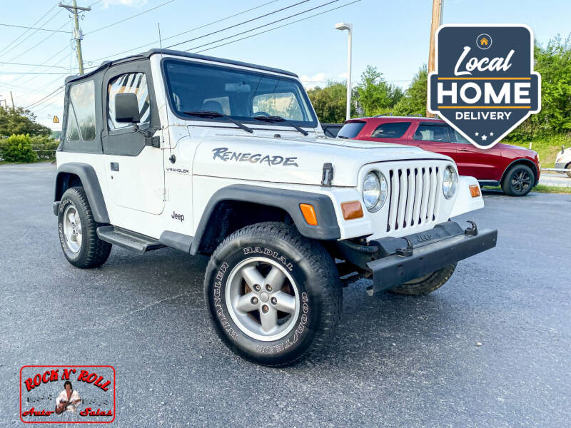 1997 Jeep Wrangler for sale at Rock 'n Roll Auto Sales in West Columbia SC