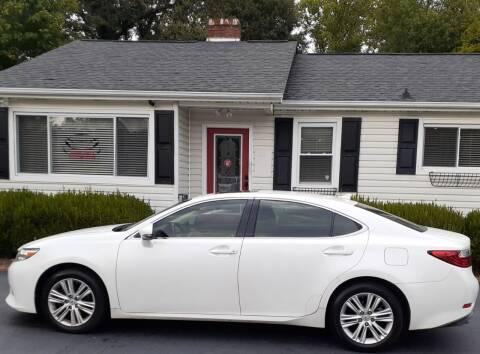2014 Lexus ES 350 for sale at SIGNATURES AUTOMOTIVE GROUP LLC in Spartanburg SC