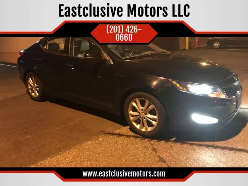 2013 Kia Optima for sale at Eastclusive Motors LLC in Hasbrouck Heights NJ
