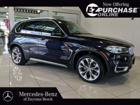 2017 BMW X5 for sale at Mercedes-Benz of Daytona Beach in Daytona Beach FL