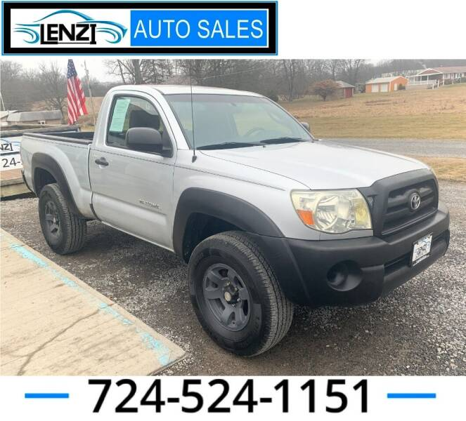 2006 Toyota Tacoma for sale at LENZI AUTO SALES in Sarver PA