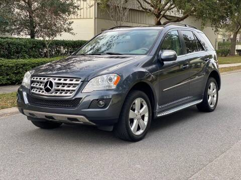 2010 Mercedes-Benz M-Class for sale at Presidents Cars LLC in Orlando FL