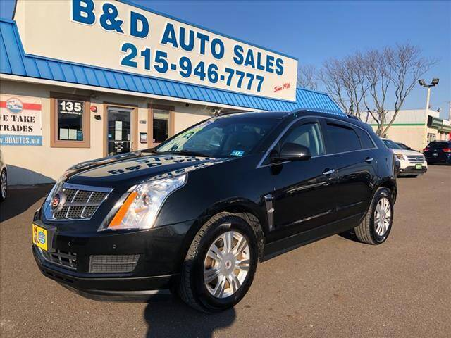 2011 Cadillac SRX for sale at B & D Auto Sales Inc. in Fairless Hills PA