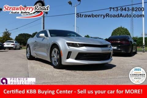 2017 Chevrolet Camaro for sale at Strawberry Road Auto Sales in Pasadena TX