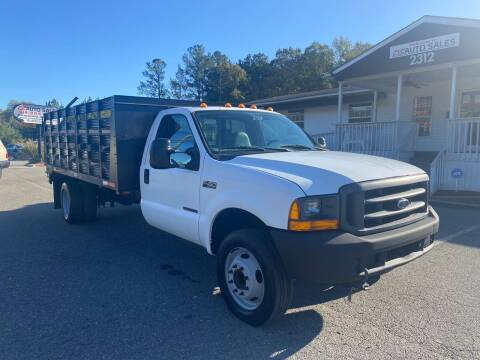 1999 Ford F-450 Super Duty for sale at CVC AUTO SALES in Durham NC