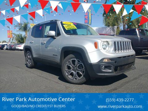 2016 Jeep Renegade for sale at River Park Automotive Center in Fresno CA