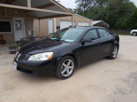 2008 Pontiac G6 for sale at DISCOUNT AUTOS in Cibolo TX