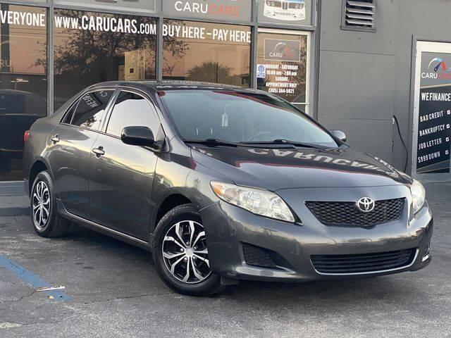 2010 Toyota Corolla for sale at CARUCARS LLC in Miami FL