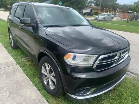 2016 Dodge Durango for sale at Eden Cars Inc in Hollywood FL